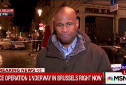 Police activity underway in Brussels