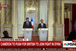 British PM to push for UK to join Syria fight