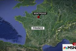 AP: Explosive belt found in Paris suburb