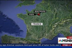 French find explosive belt in Paris suburb