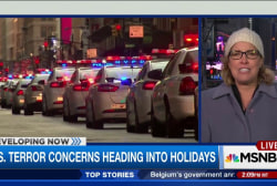 US terror concerns heading into holiday