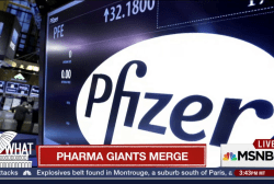 Pharma giants merge