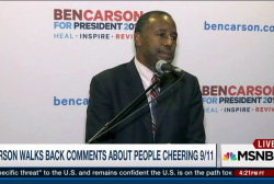 Carson walks back comments on 9/11