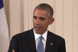 Obama: Russia welcome to be part of coalition