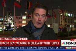 NATO stands in 'solidarity' with Turkey