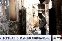'Human error' blamed for strike on Afghan...