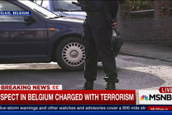 Man arrested in Brussels for 'terrorist...