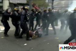 Paris climate protest turns violent