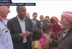Carson: Syrian refugees don't want to come...