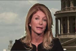 Wendy Davis reacts to Colorado shooting