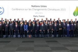 World leaders meet to reach climate agreement