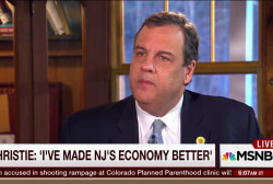 Christie: We have to focus on protecting...