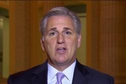 Rep. McCarthy: I don't see a shutdown...