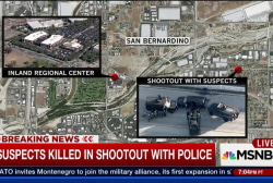 What was the motive in San Bernardino...