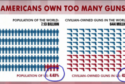 Rattner's charts: US has too many guns