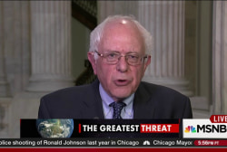 Bernie Sanders responds to his critics