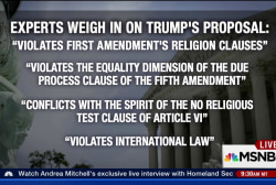 Trump's Muslim ban proposal: Is it legal?