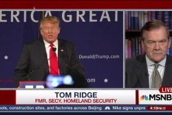 Ridge: 'Not a Chance' I'll Support Trump...