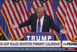 New GOP Rules May Aid Trump