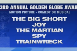 Golden Globes nominees announced