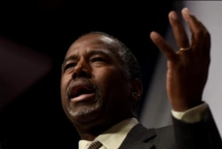 Will Ben Carson say goodbye to the GOP?