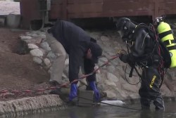 FBI dive teams trawl San Bernardino lake