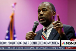Carson Threatens to Flee GOP