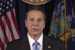 NY governor pushes for tougher gun law