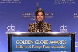 Gina? America? Golden Globes gets confused