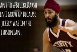 #BeLikeDarsh defends Sikh basketball player