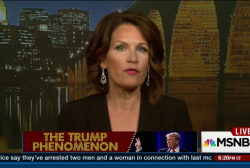 Bachmann, King on the Trump phenomenon