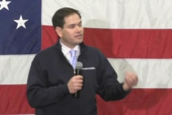 Rubio Skips Spending Bill Vote