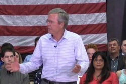 Bush ratchets up attacks on Trump