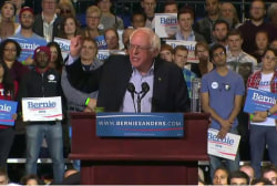 Bernie Sanders shatters campaign donor record