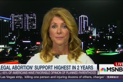 Wendy Davis: GOP 'out of touch' on abortion
