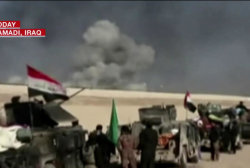 Iraqi Army Battles ISIS at Ramadi