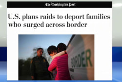 WaPo: DHS to deport many who crossed border