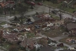 Deadly tornadoes tear through north Texas