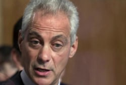 Emanuel returns to work as resignation...