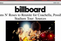 Welcome to the Reunion: Axl, Slash to team up
