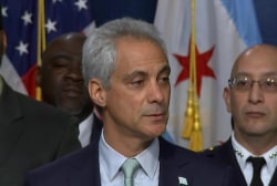Chicago mayor announces new 'de-escalation...