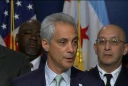 Emanuel announces de-escalation tactics