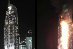 Expert: 'Dubai fire not under control'
