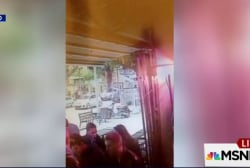 Video shows moment of Tel Aviv attack