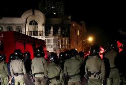 Protesters storm Saudi Embassy in Iran