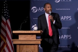 Carson campaign: There is absolutely no chaos