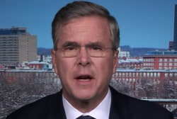 Bush: I can beat Hillary Clinton