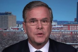 Bush: Trump is a buddy of the Clintons
