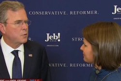 Jeb on Christie: 'I have a better record'