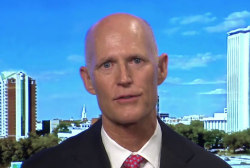 Florida governor not endorsing, but likes...